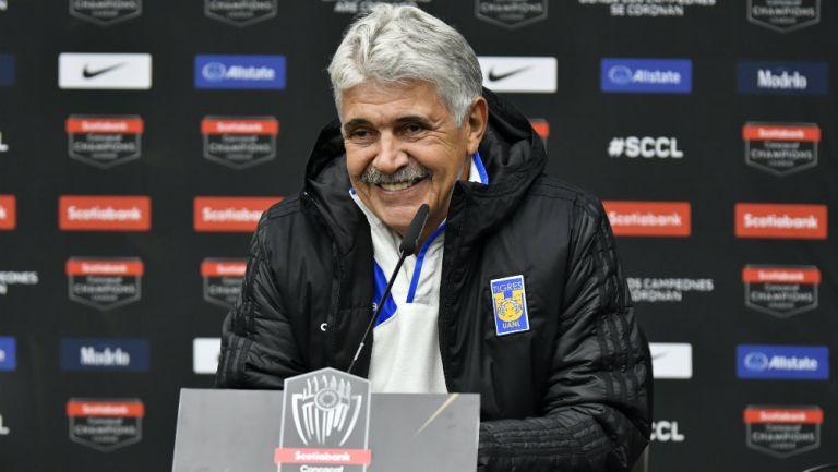 Ricardo Ferretti en conferencia de prensa