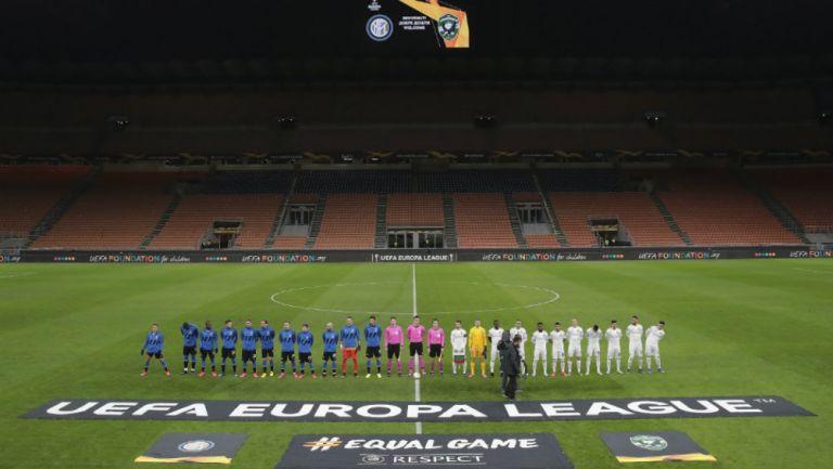 Partido entre Inter y Ludogorets a puerta cerrada