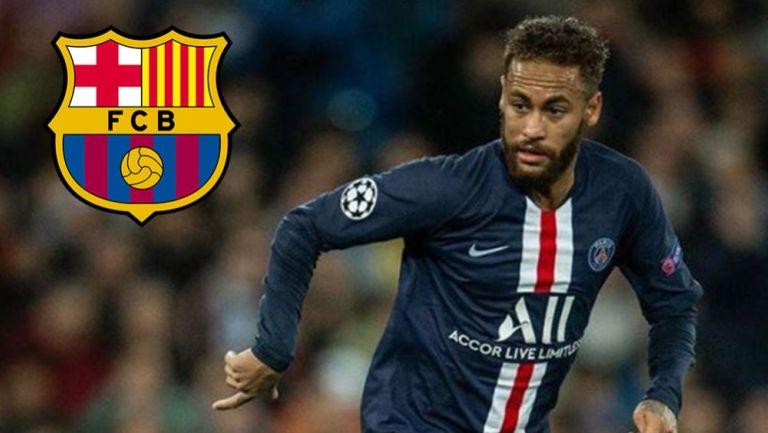 Neymar, en un juego con el PSG