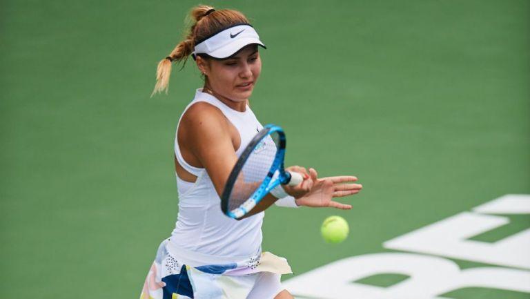 Ana Karen Guadiana, en un torneo