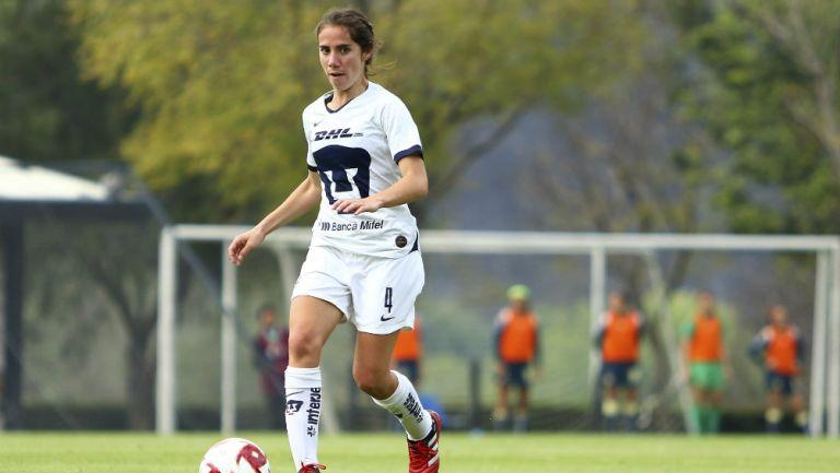 Deneva Cagigas, jugadora de Pumas Femenil