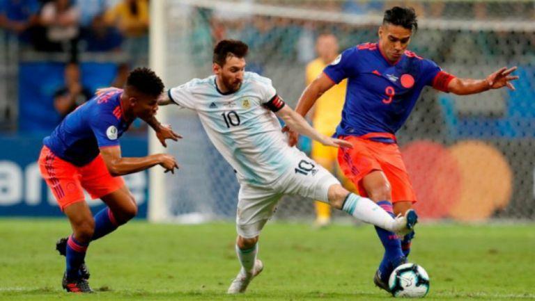 Argentina vs Colombia en partido