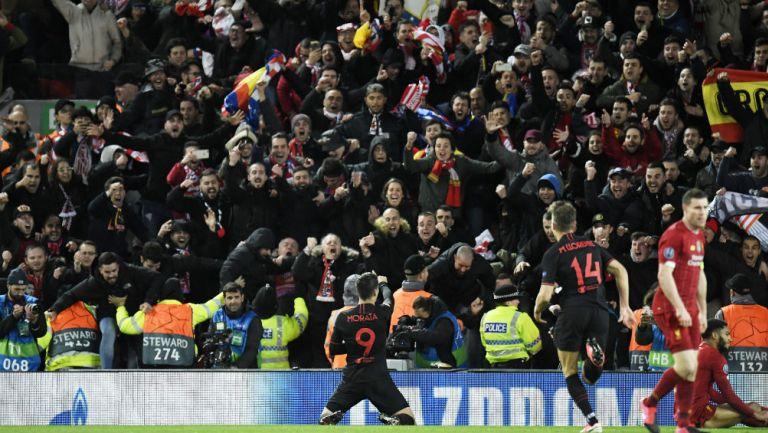 Atlético de Madrid derrotó en tiempos extra al Liverpool y avanza en Champions