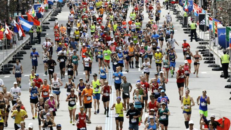 Maratón de Boston en abril del 2017