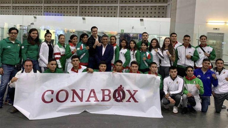 Los seleccionados juveniles de México previo a una competencia