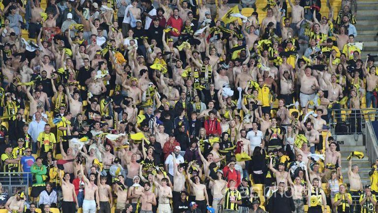 Fans apoyan a su equipo en la A-League