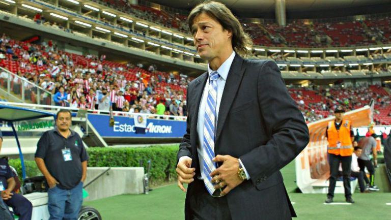 Matías Almeyda como técnico de Chivas