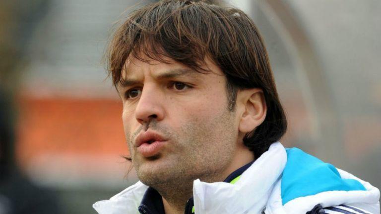 Fernando Morientes en entrenamiento