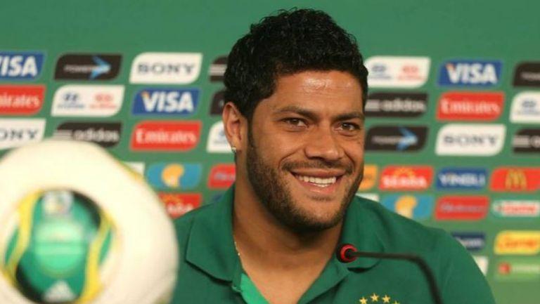 Hulk, durante una conferencia de prensa