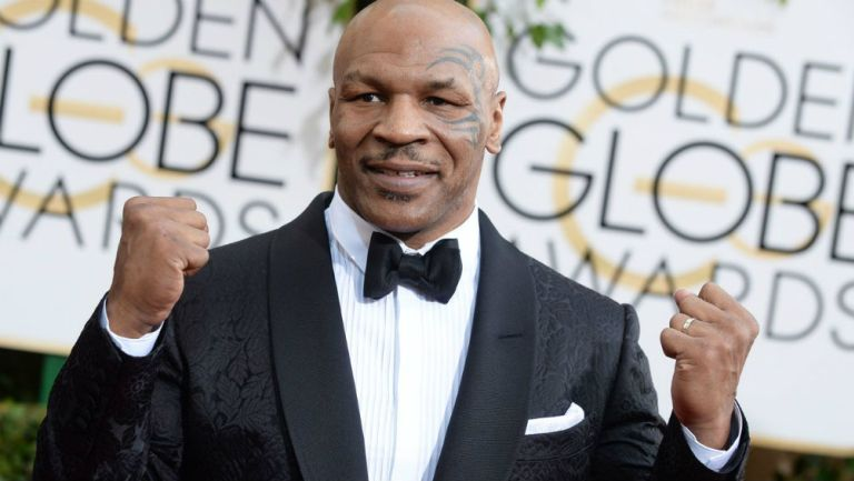 Mike Tyson en alfombra roja