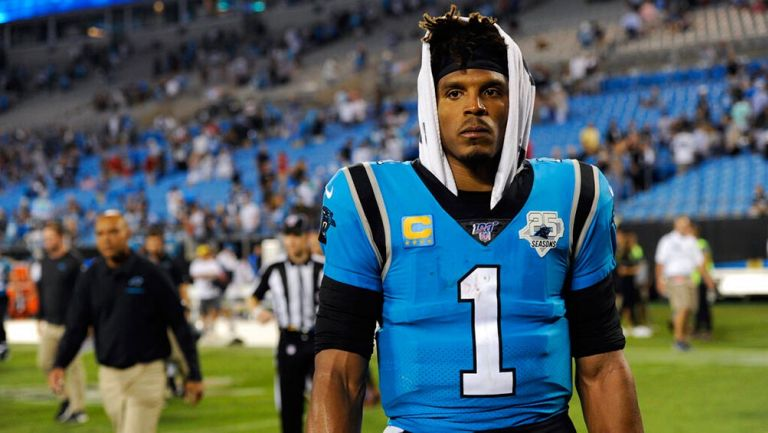 Panthers dejó en libertad a Cam Newton