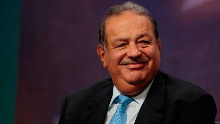 Carlos Slim en presentación
