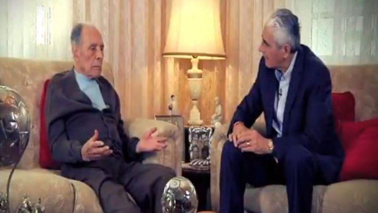 Don Nacho Trelles, en entrevista con su hijo Eduardo Trelles