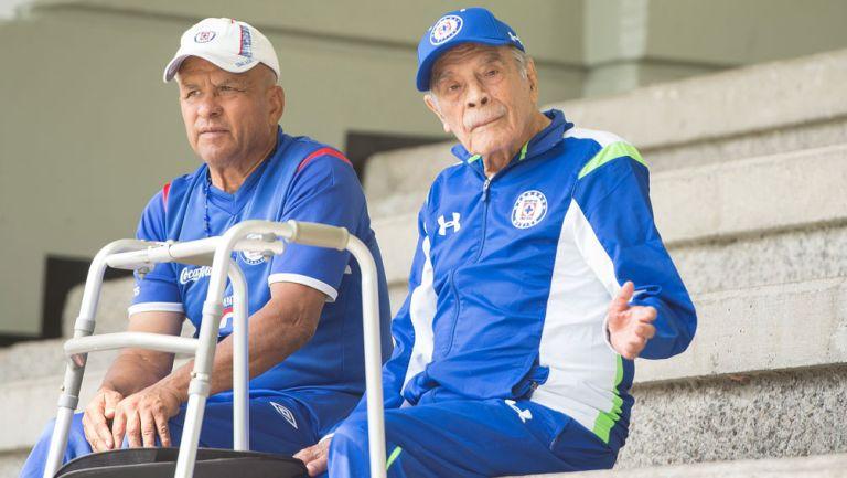 Nacho Trelles, en las instalaciones de Cruz Azul
