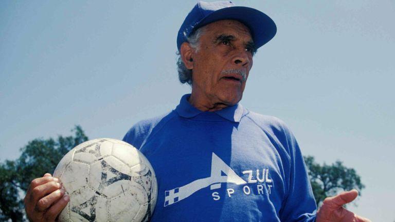 Nacho Trelles, en su paso por Cruz Azul