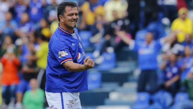 Carlos Hermosillo, referente de Cruz Azul