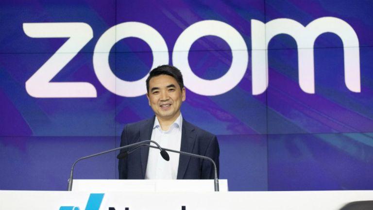 CEO de Zoom, en conferencia de prensa