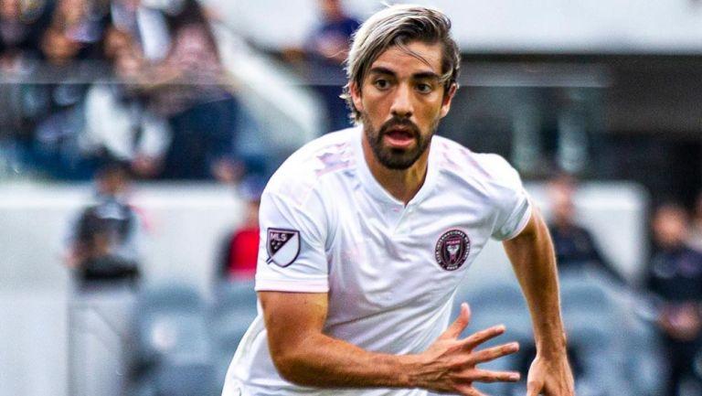 Pizarro, en un partido del Inter Miami
