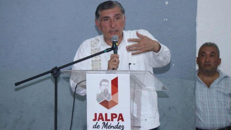 Adán Augusto López, gobernador de Tabasco