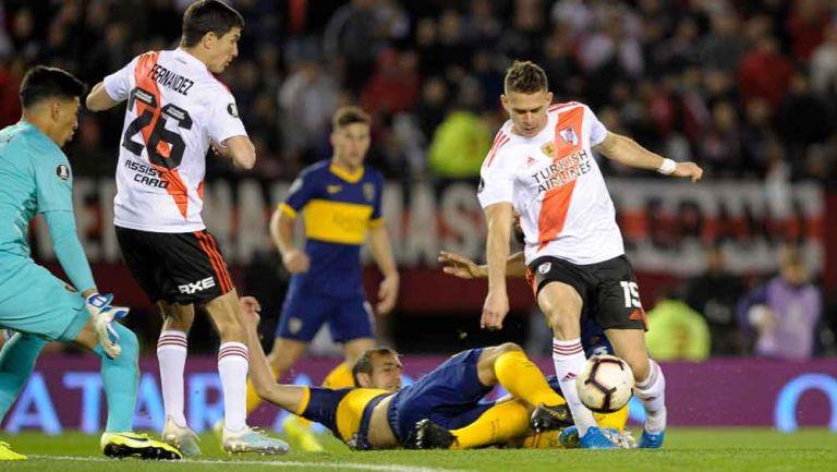 River y Boca se enfrentan en el Clásico de Argentina