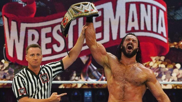 Drew McIntyre, Campeón de la WWE en Wrestelmania 36