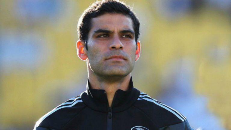 Rafael Márquez en partido