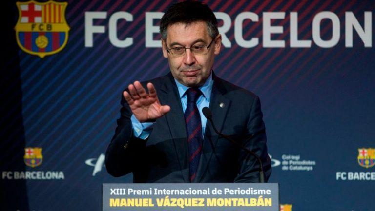 Josep Maria Bartomeu, en un evento público