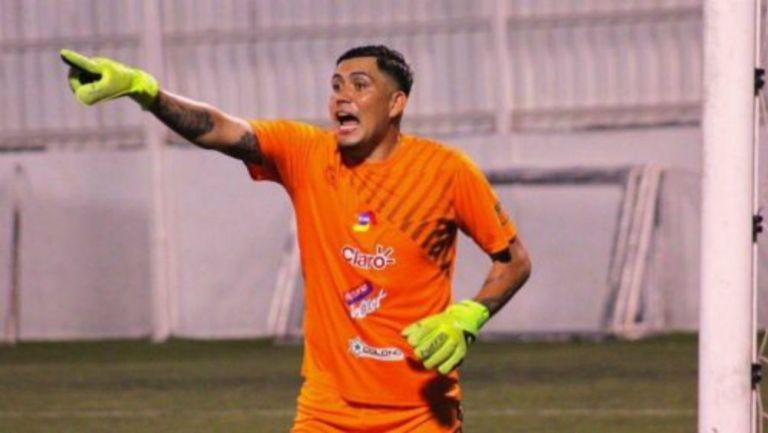 Bernardo Gradilla, portero del Diriangén FC