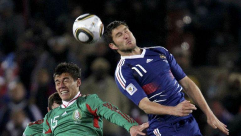 En la Copa del Mundo de 2010, Gignac compitió en contra de México