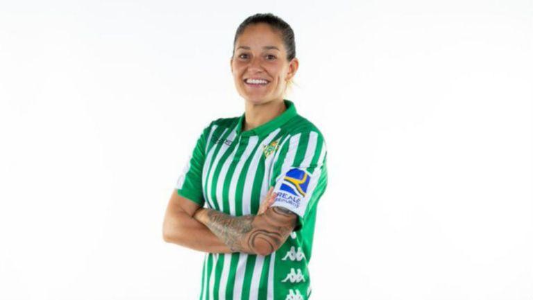 Ana 'Willy' Romero, jugadora del Betis