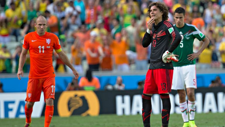 FIFA recordó el Holanda vs México de Brasil 2014