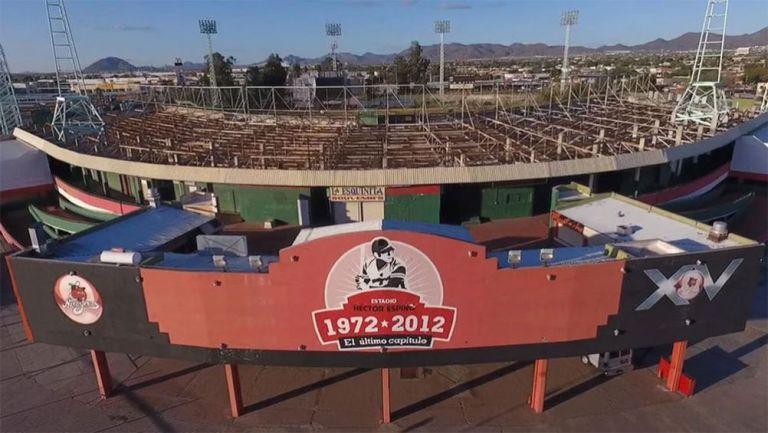 El Estadio Héctor Espino en Sonora