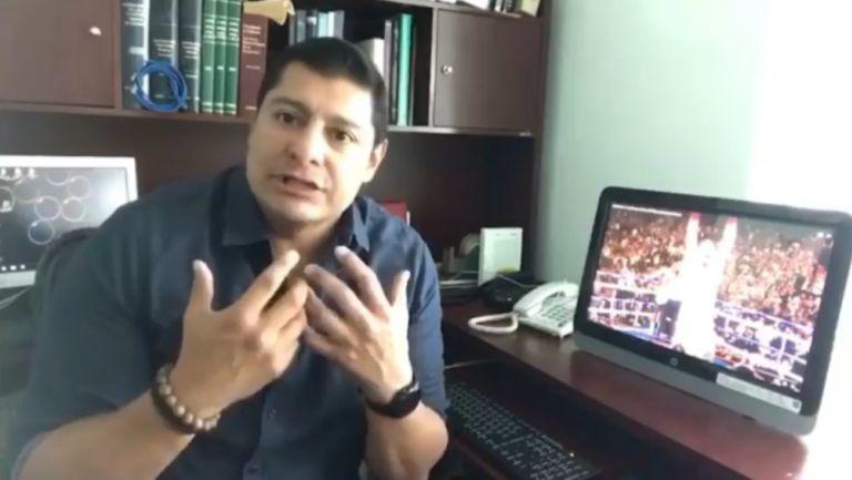 Martinoli tuvo fuertes palabras contra el 'Zar del Boxeo'