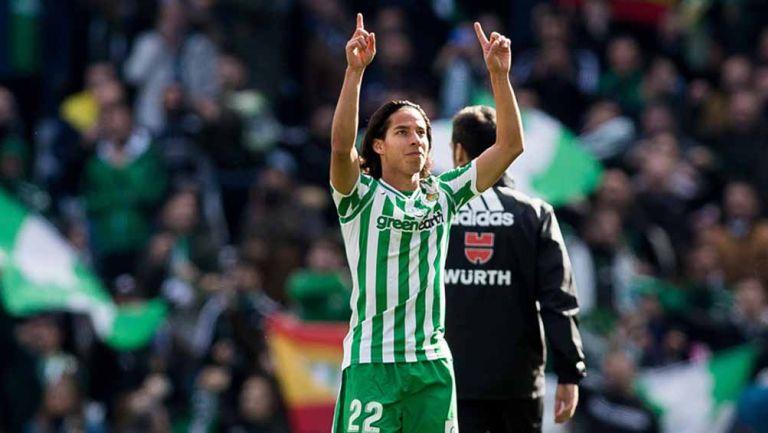 Diego Lainez: 'En Betis crezco más que en América' | RÉCORD