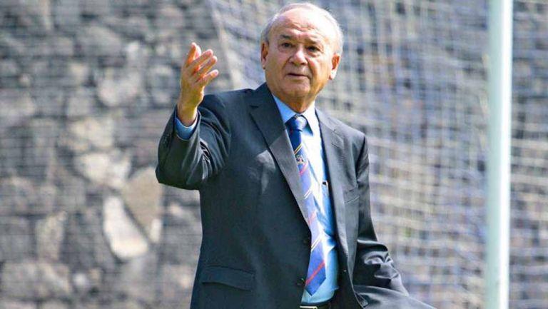 Billy Álvarez, en una de sus visitas a La Noria