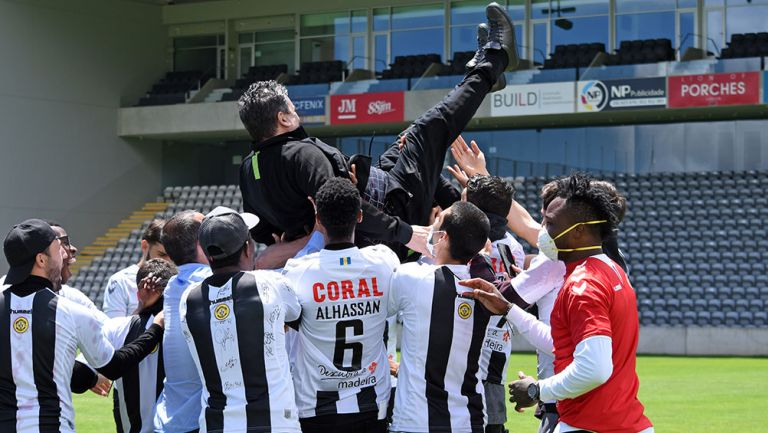 Liga Portuguesa otorgó ascensos a Nacional y Farense