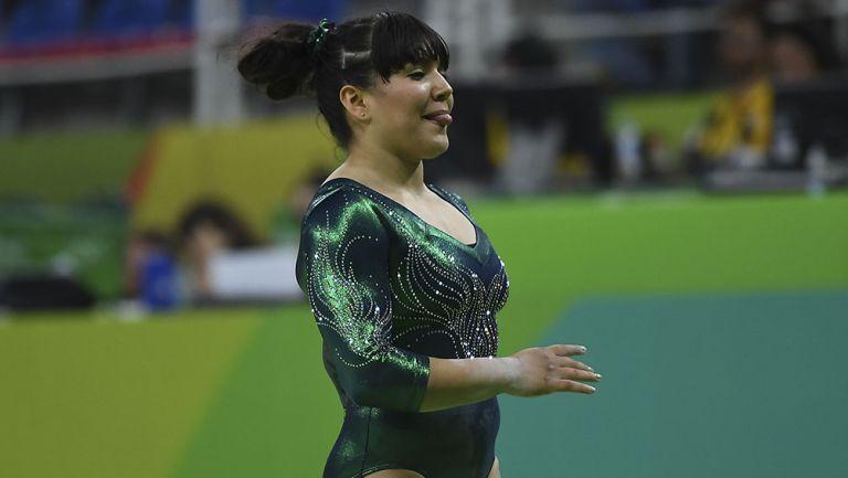 Alexa Moreno en los Olímpicos de Río 2016