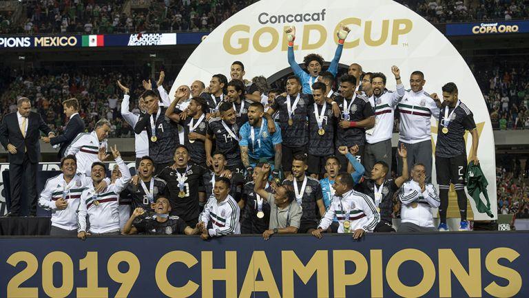 La Selección Mexicana tras el título de Copa Oro