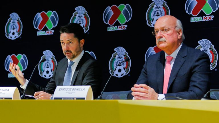 Bonilla y De Luisa, en conferencia de prensa