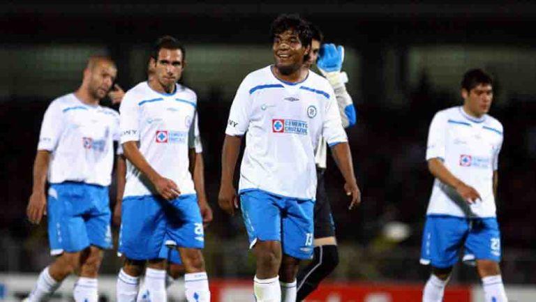 Melvin Brown jugando con Cruz Azul