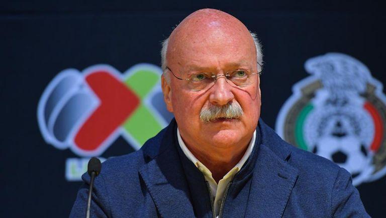 Enrique Bonilla alabó el nuevo estadio de Mazatlán