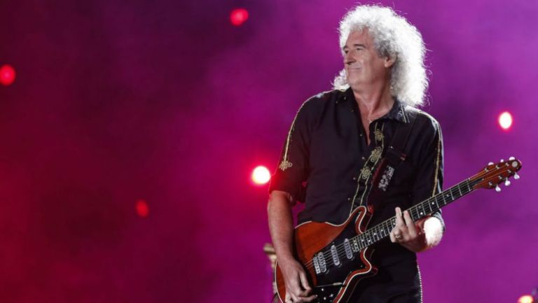El guitarrista de Queen, Brian May