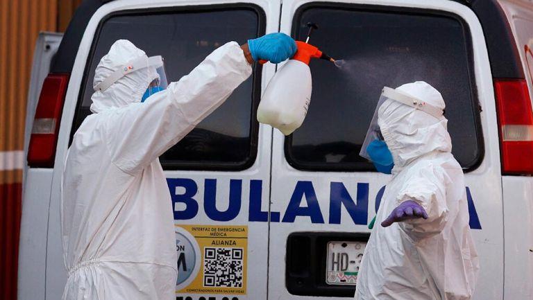 México registró récord de infectados y muertes por coronavirus en un día
