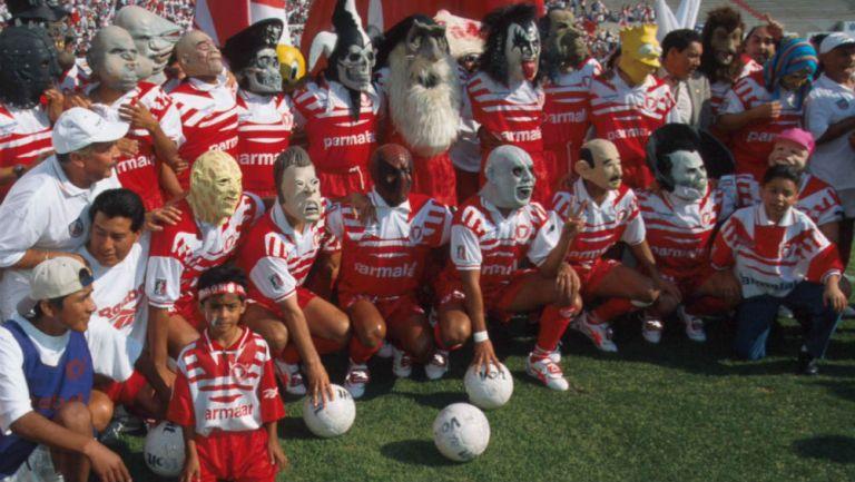 Toros Neza previo a disputarse la Final de 1997