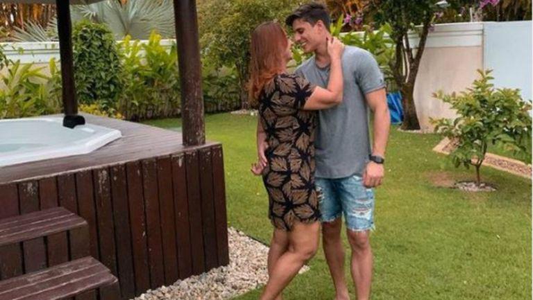 Nadine Gonçalves y Tiago Ramos