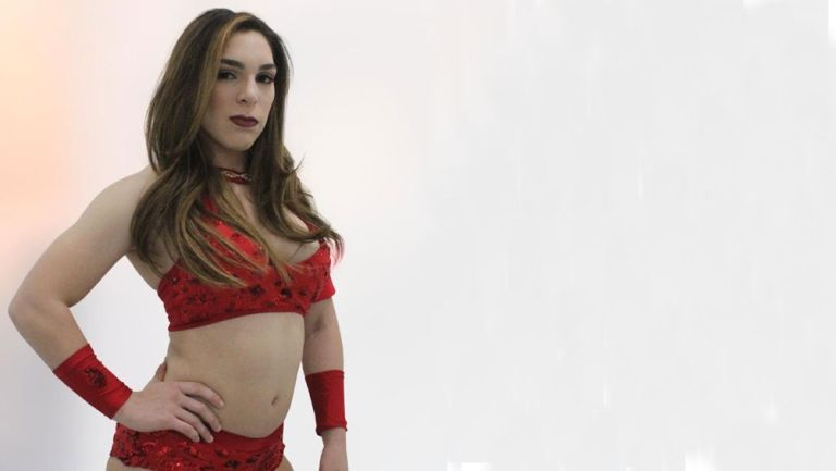 Vanilla Vargas en una sesión de fotos