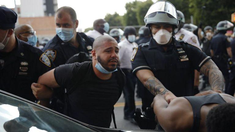 Declaran toque de queda en EEUU tras protestas por George Floyd