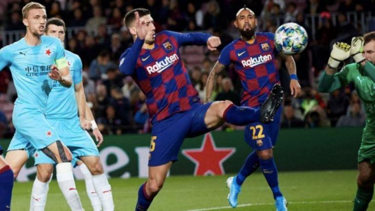 Lenglet: 'A Messi y Griezmann les vino de maravilla el parón por COVID-19'