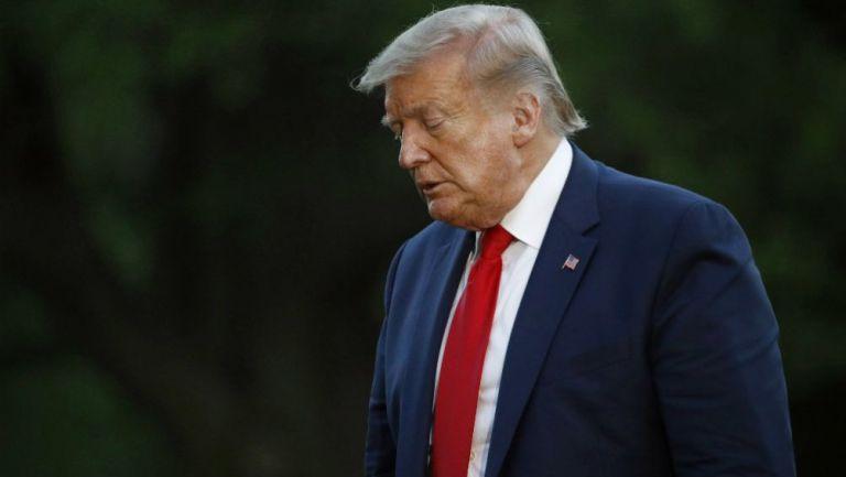Donald Trump se refugió en búnker de la Casa Blanca