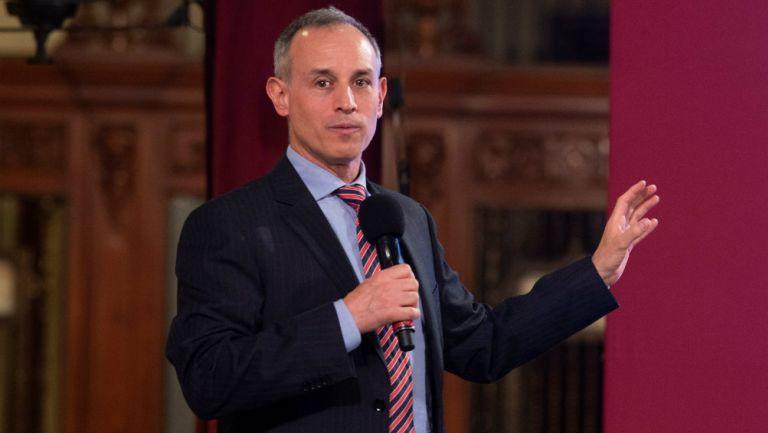 Gatell en conferencia de prensa
